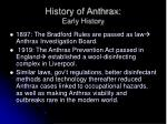 history of anthrax early history1