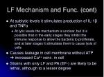 lf mechanism and func cont2