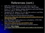 references cont2