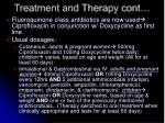 treatment and therapy cont