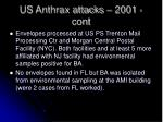 us anthrax attacks 2001 cont2