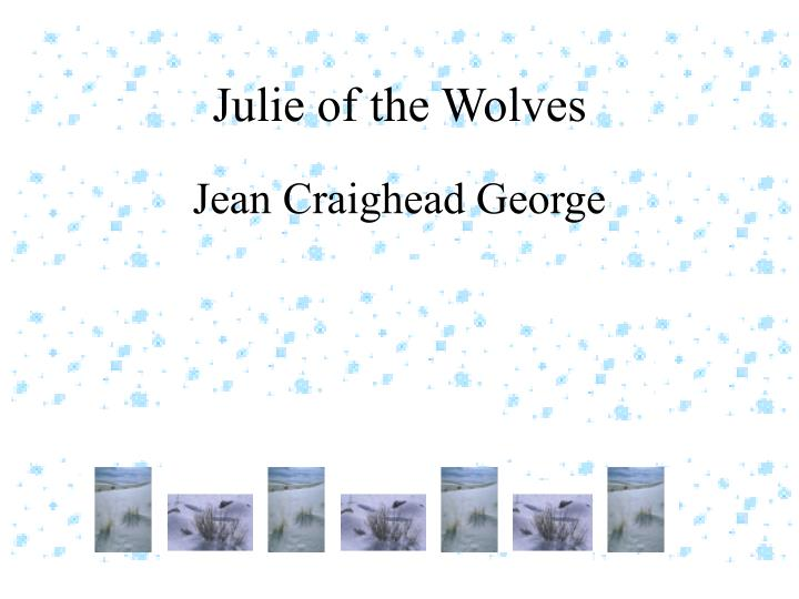 julie of the wolves n.