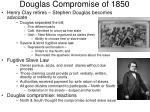 douglas compromise of 1850