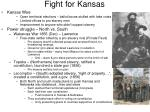 fight for kansas