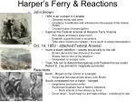 harper s ferry reactions