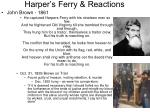 harper s ferry reactions1