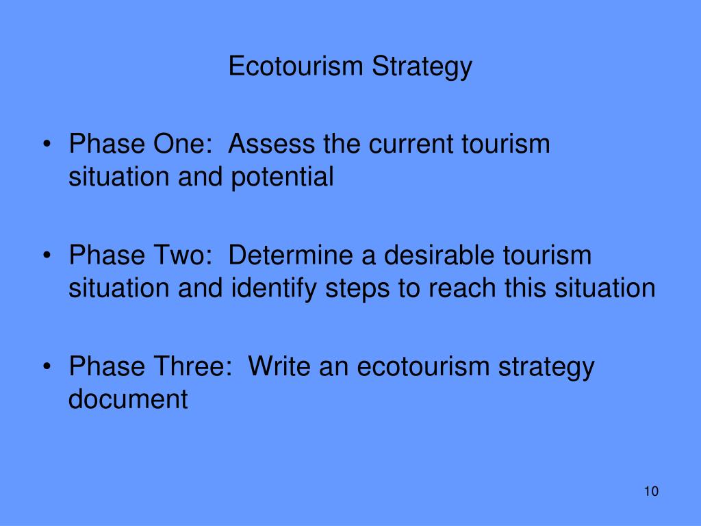 Ecotourism Strategy