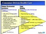 consumer driven health care