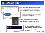 iris patient safety