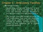 chapter 3 ambulatory facilities10