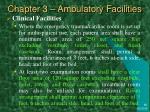 chapter 3 ambulatory facilities15