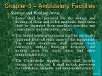 chapter 3 ambulatory facilities20