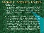 chapter 3 ambulatory facilities30
