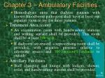 chapter 3 ambulatory facilities35
