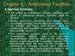 chapter 3 ambulatory facilities41
