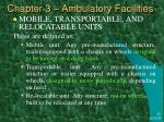 chapter 3 ambulatory facilities46