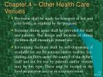 chapter 4 other health care venues15