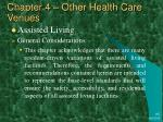 chapter 4 other health care venues16