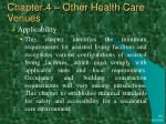 chapter 4 other health care venues17