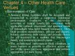 chapter 4 other health care venues18