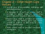 chapter 4 other health care venues28