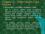chapter 4 other health care venues29