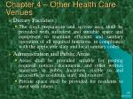 chapter 4 other health care venues31