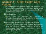 chapter 4 other health care venues33