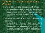 chapter 4 other health care venues35