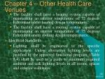 chapter 4 other health care venues36