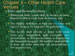 chapter 4 other health care venues48