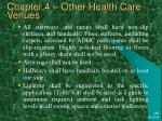 chapter 4 other health care venues50