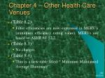 chapter 4 other health care venues9