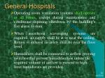 general hospitals17