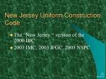 new jersey uniform construction code
