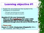 l earning objective 1
