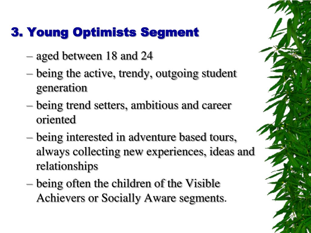 3. Young