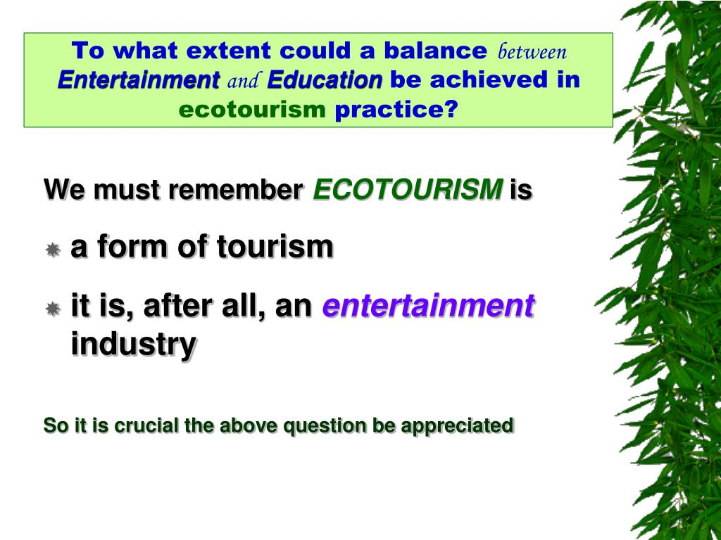 To what extent could a
