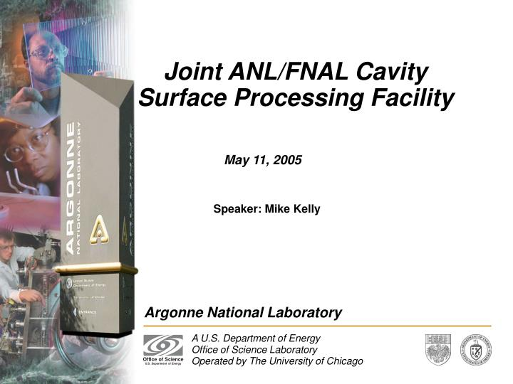 joint anl fnal cavity surface processing facility n.