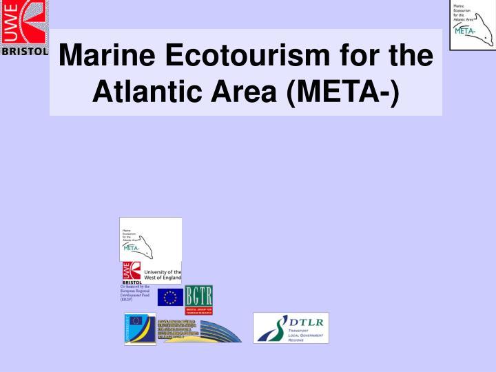 Marine ecotourism for the atlantic area meta