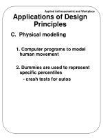 applications of design principles1