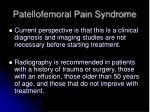 patellofemoral pain syndrome2