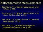 anthropometric measurements3