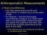 anthropometric measurements4