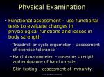 physical examination7