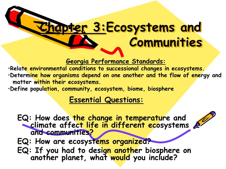 chapter 3 ecosystems and communities n.