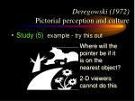 deregowski 1972 pictorial perception and culture17