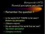 deregowski 1972 pictorial perception and culture22