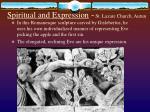 spiritual and expression st lazare church autun