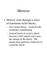 mowrer